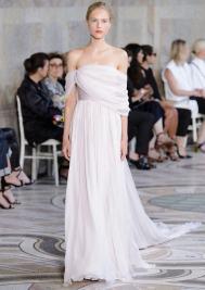 красивое Свадебное платье в греческом стиле Giambattista Valli Haute Couture осень-зима 2017/18