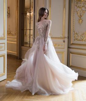 летяще свадебное платье Париж