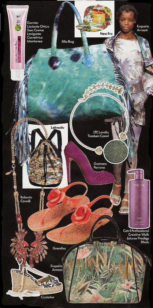 модные аксессуары лето 2014
