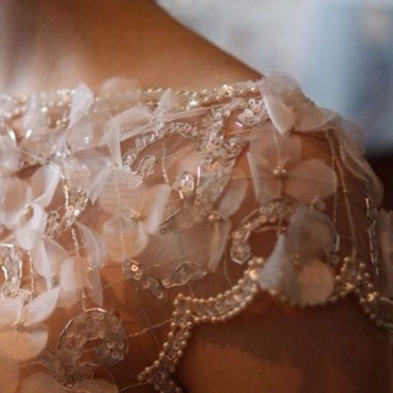svadebnoe platia - plecho