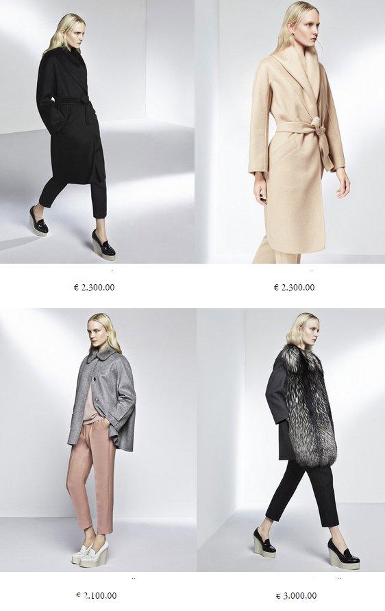 MaxMara palto ATELIER 2015