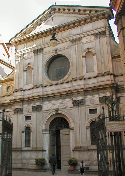церковь Santa Maria presso San Satiro