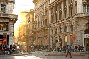 вияя Торино шоппинг Милан