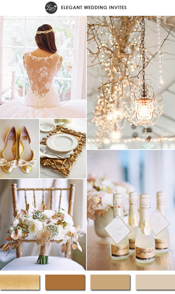 color-trends-for wedding-2015-gold