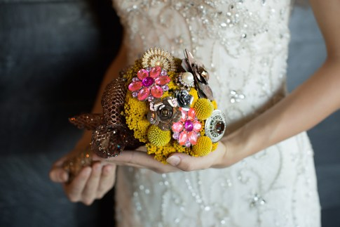 Wedding-Bouquet--Broaches-