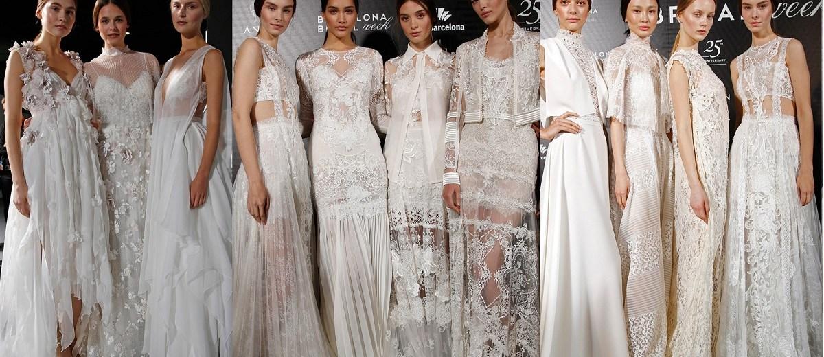 a0684f12524 Новые коллекции свадебных платьев 2016 года на Barcelona Bridal Week   Rosa  Clarà