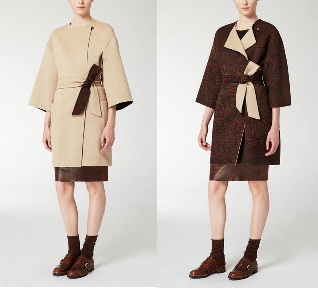palto dvuhstoronnie MaxMara 2015-16
