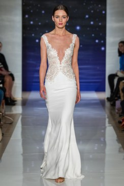 Reem Acra 2016 wedding dress