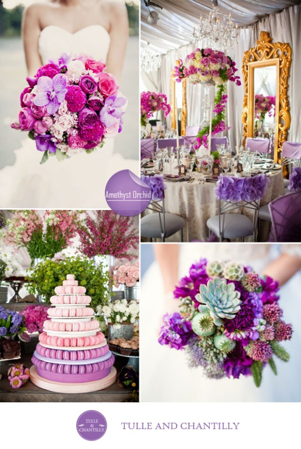 amethyst archid wedding color ideas fall 2015 pantone