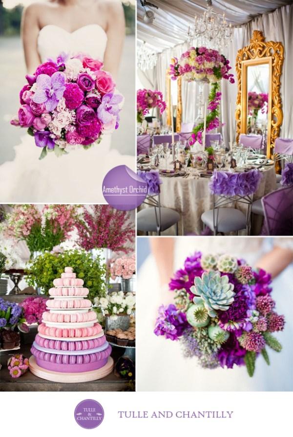 amethyst archid wedding color ideas fall 2015 pantone