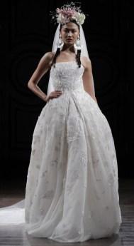 свадебное платье Naeem Khan Осень-Зима 2016