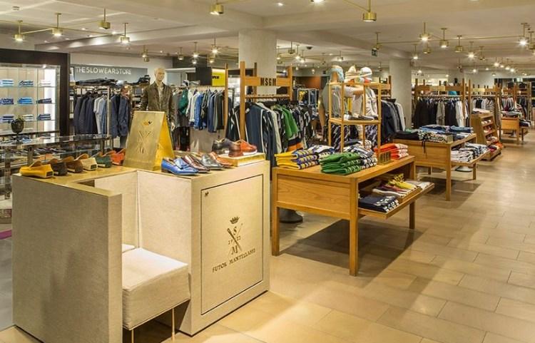 шоппинг для мужчин в Милане