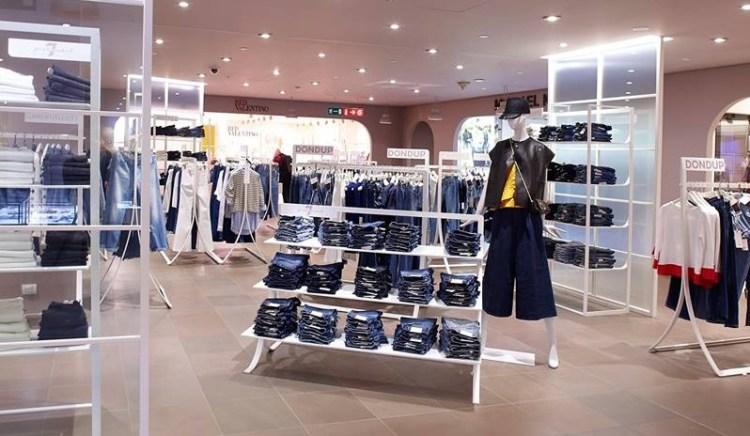 шоппинг в Милане где купить джинсы
