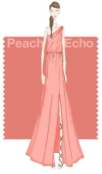 Pantone Fashion color report SS 2016 16-1548 Peach Echo