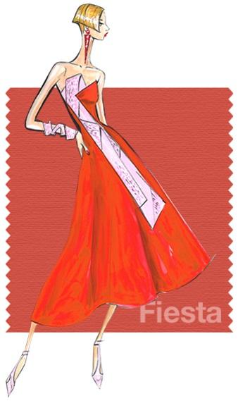 Pantone Fashion color report SS 2016 Fiesta