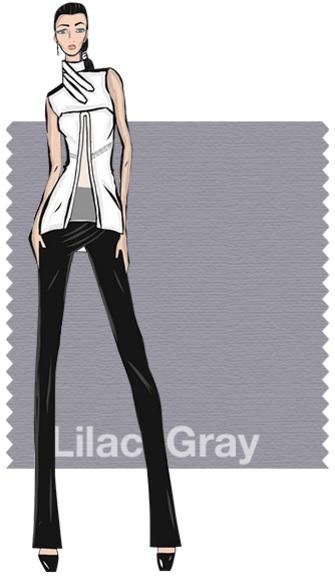 Pantone Fashion color report SS 2016 Lilac Gray