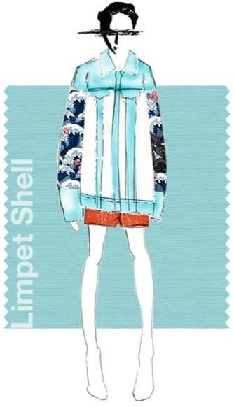 Pantone Fashion color report SS 2016 color Limped Shell