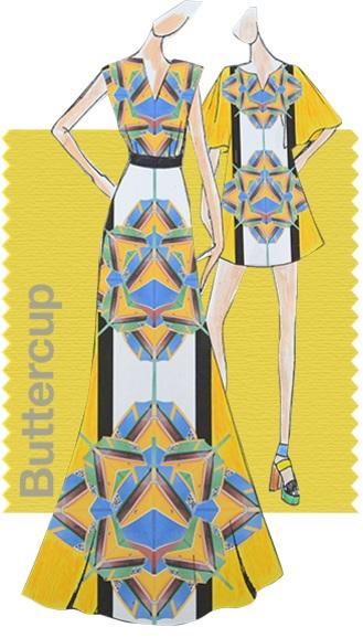 Pantone Fashion color report SS 2016 color PANTONE 12-0752 Buttercup
