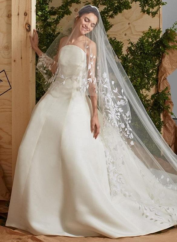 новые свадебные коллекции 2017 Carolina Herrera Bridal 2017