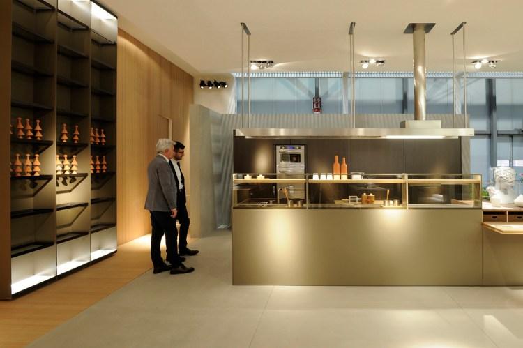мебельная выставка кухни Eurocucina