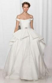 самые модные свадебные платья 2017 Reem Acra