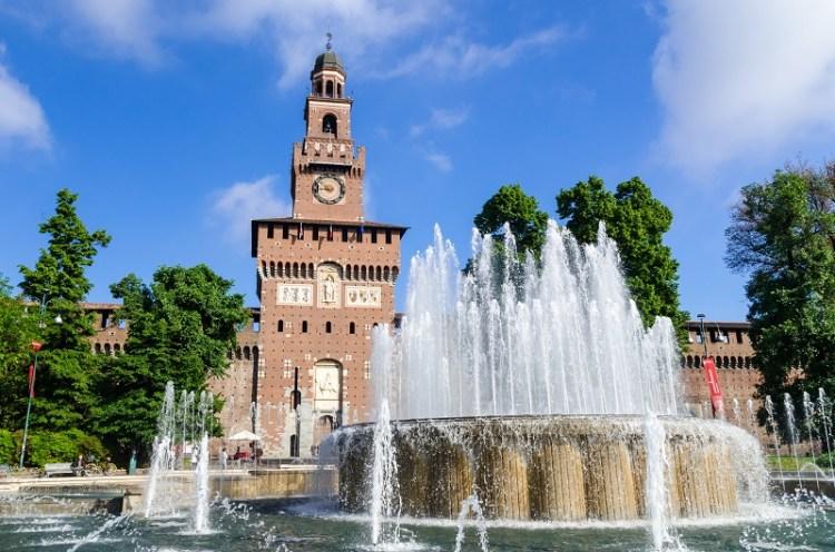 замок Сфорца Милан