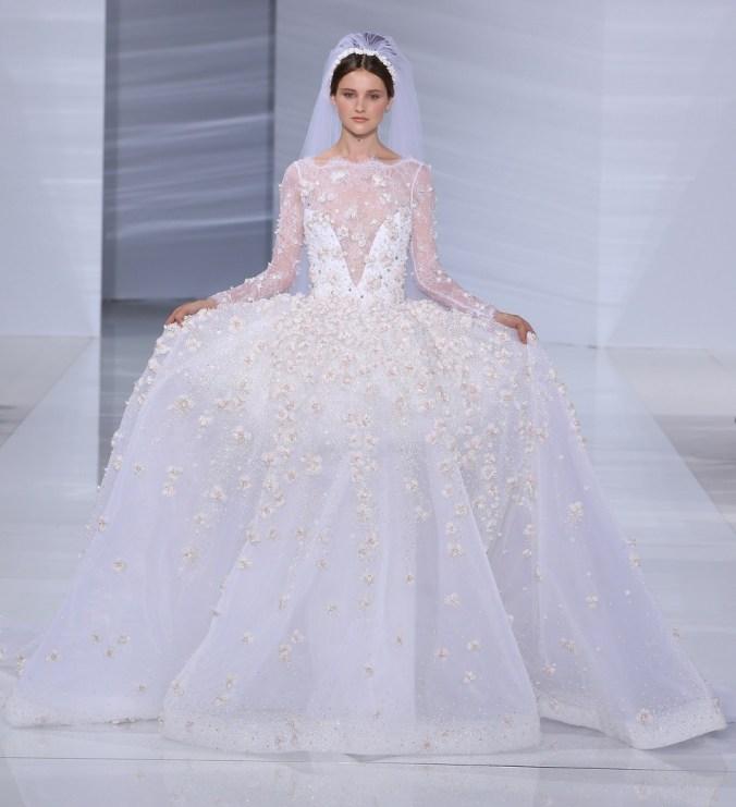 Gerges Hobeika wedding dress