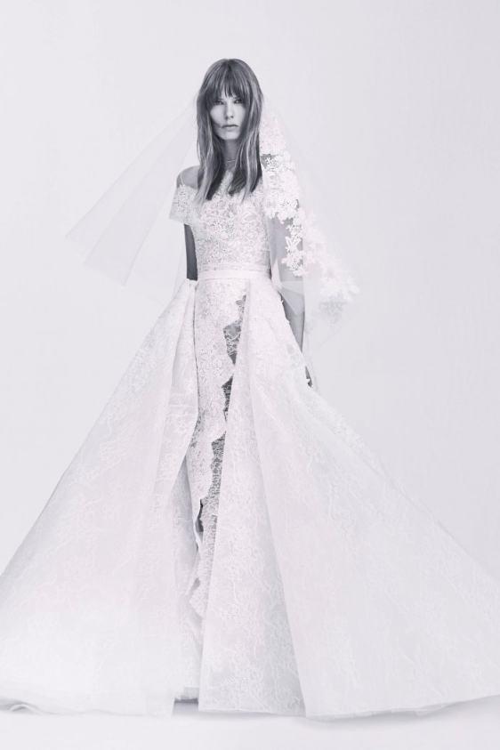 Elie Saab свадебное платье2017