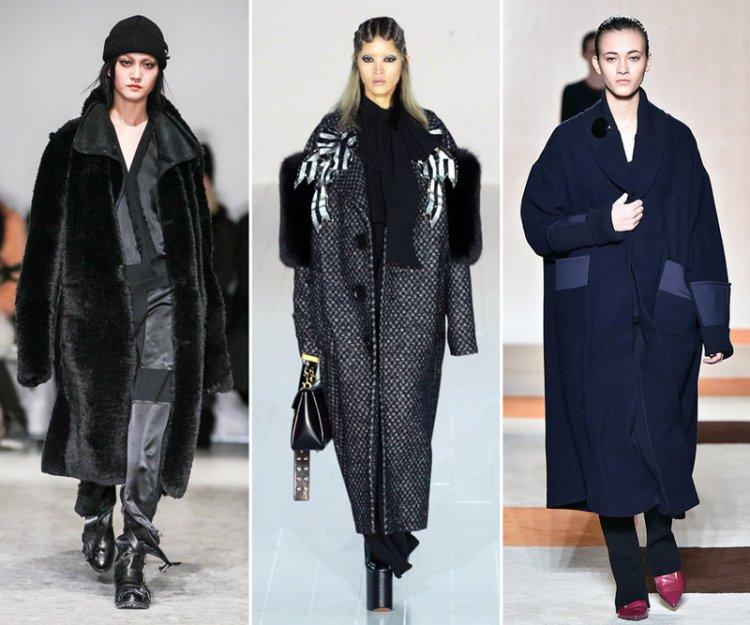 пальто 2016 2017 оверсайз
