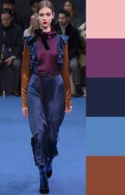 модная палитра цветов цвета осень зима 2016