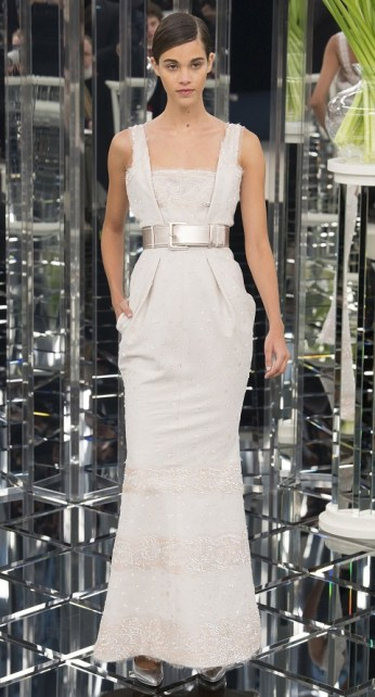 Chanel couture spring 2017 wedding