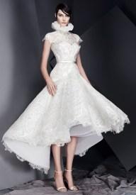 свадебное платье с объемной юбкой Ashi Studio 2017