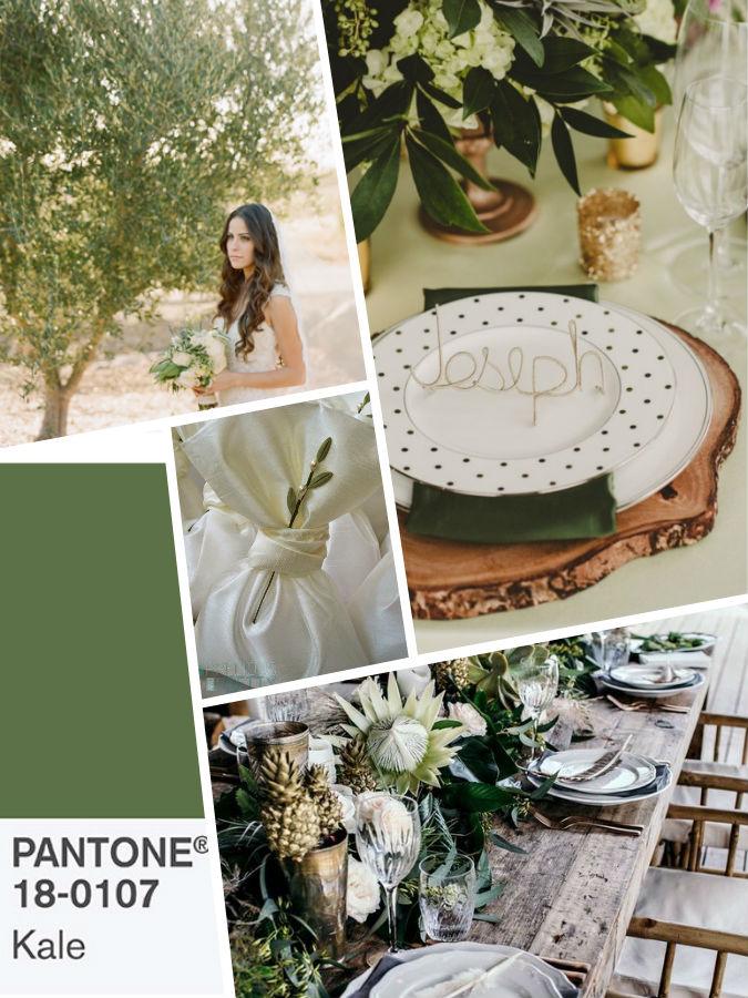 Зеленый PANTONE 18-0107 Kale