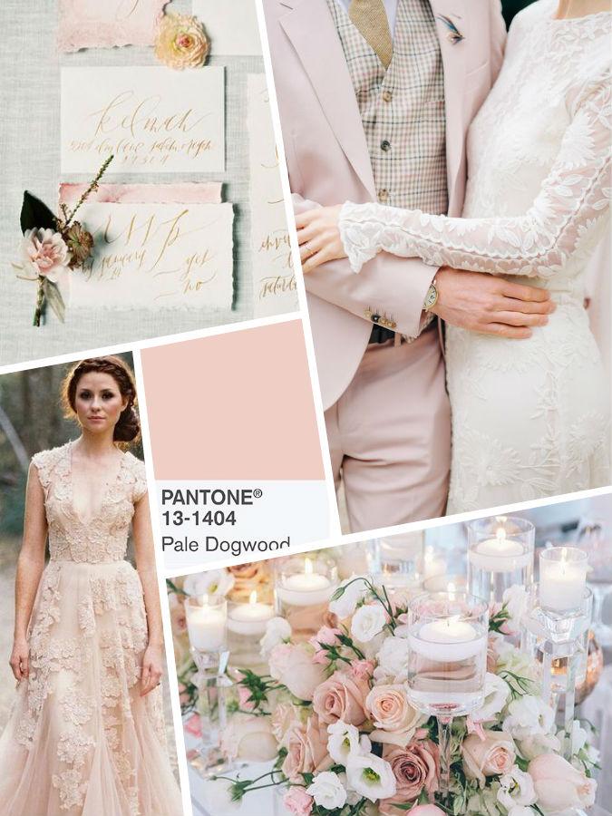 Pale Dogwood wedding