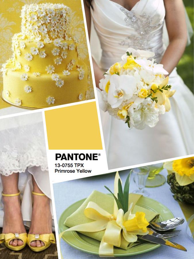 Желтый PANTONE 13-0755 Primrose Yellow