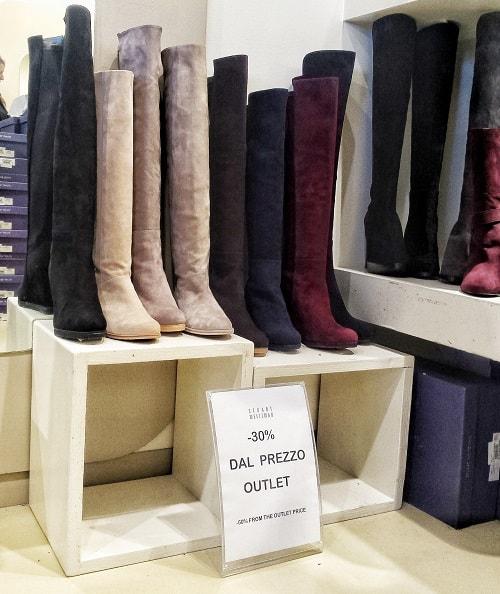 купить обувь в Серравалле аутлет