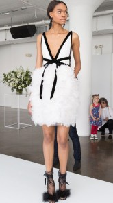 короткое сваденое платье Marchesa Bridal 2018
