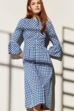 летнее платье модный тренд 2017 клетка Vichy