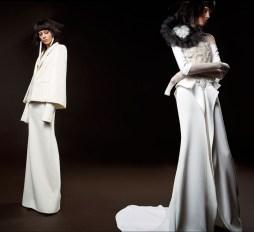 свадебное платье с накодкой объемная вышивка и длинный рукав