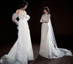 кружевное свадебное платье Vera Wang Spring 2018