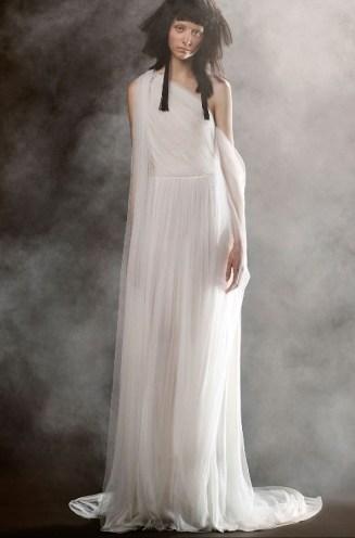 свадебное платье в греческом стиле Vera Wang Spring 2018