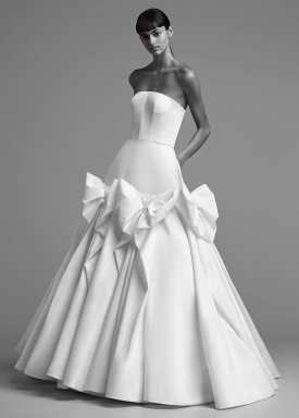 модное свадебное платье 2018 Viktor and Rolf