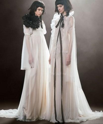 романтические свадебные платья Vera Wang Spring 2018