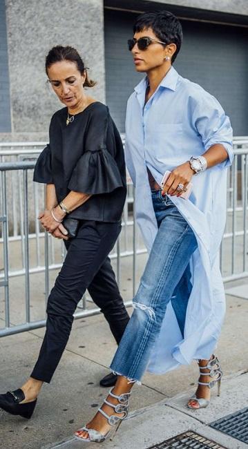 fashion trend SS 2017 - shirt-dress