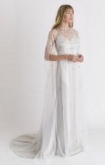 свадебное платье с накидкой Alexandra Grecco 2018