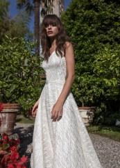 блестящее свадебное платье 2018