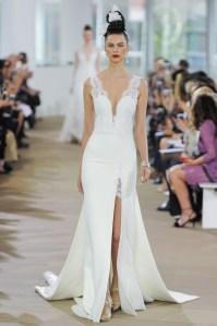 свадебное платье с разрезом 2018 Inen Di Santo