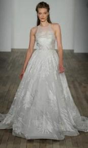 свадебное платье с американской проймой 2018 Lazaro