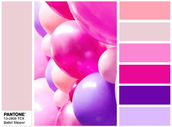 PANTONE 13-2808 Ballet Slipper - combination