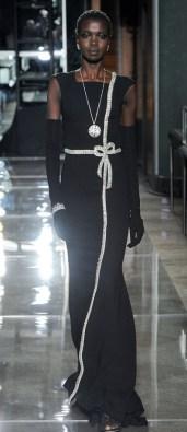 оригинальное цветое Черное свадебное платье Reem Acra Bridal 2018
